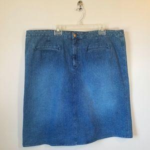 Covington Denim Skirt size 22W